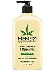Hempz Natural Herbal Body Moisturizer: Sweet Pineapple...