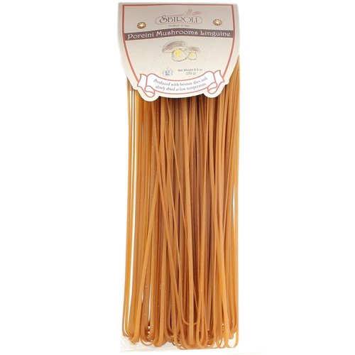 SBIROLI Linguine Porcini Mushroom Flavor, 8.8 Ounce Porcini Pasta Sauce