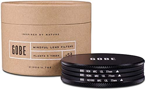 Gobe 77mm ND Stopper 1Peak ND Filter Kit (3, 6, 10-Stop) [並行輸入品]