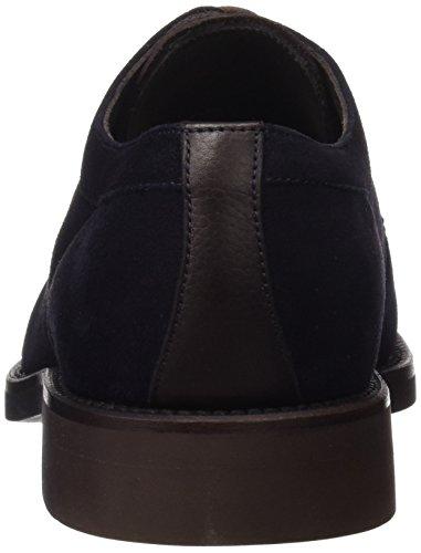 3297 Cordones Georges Derby Hombre para Oceano Azul de Zapatos O11Fxd