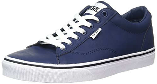 Vans Dawson, Zapatillas para Hombre Azul (Leather dress blues/white)
