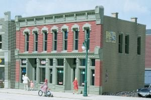 Scale Building Ho Dpm - Woodland Scenics 12000 HO-Scale KIT Front Street Building, Realistic, DPM by Woodland Scenics