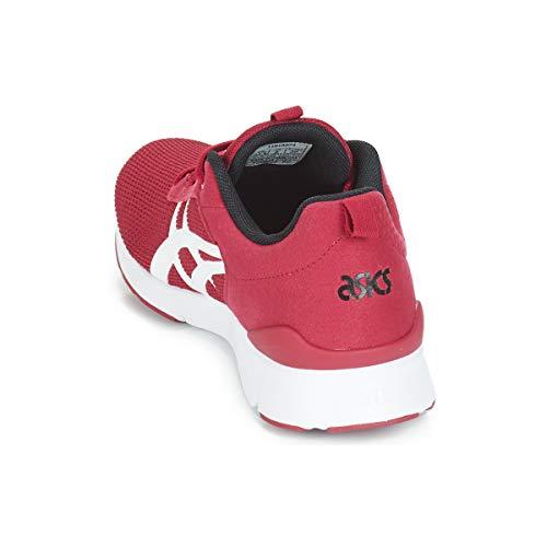 lyte Bajas 1 2 Asics Zapatillas Gel blanco Hombres Moda 40 Runner Rojo TwqgU5SA