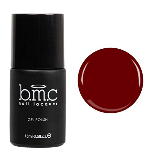 BMC Dark Berry Wine Red Gel Lacquer Polish Set - Femme Fatal