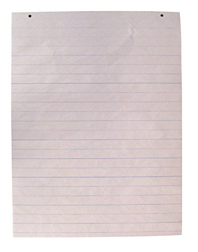 (School Smart Primary Newsprint Paper, Long Way Ruled, 18 x 24 Inches, 100 Sheets)