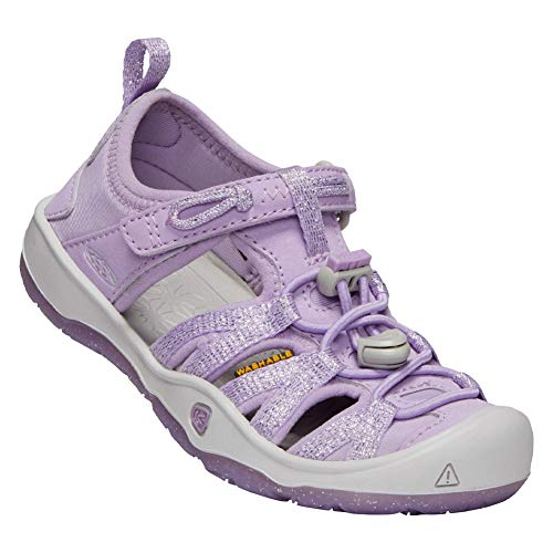 Keen Kids Baby Girl's Moxie Sandal (Toddler/Little Kid) Lupine/Vapor 9 M US Toddler