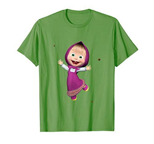 Masha and the Bear T-shirt Masha (Masha And The Bear English Full Episodes)