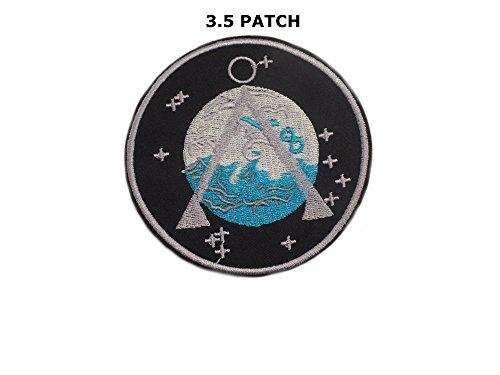 Stargate Star gate SG-1 Project Earth Atlantis U.S.S. Odyssey uniform LOGO sew iron on Patch Badge Embroidery 9x9 cm 3.5