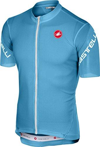 Castelli Entrata 3 Full-Zip Jersey - Men s Sky Blue 8aca32ffb