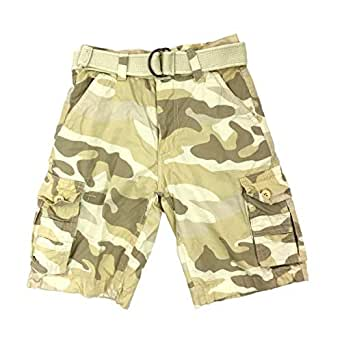 Henry & Willaim Boy's Cargo Shorts with 22 Variety of Colors - - 10