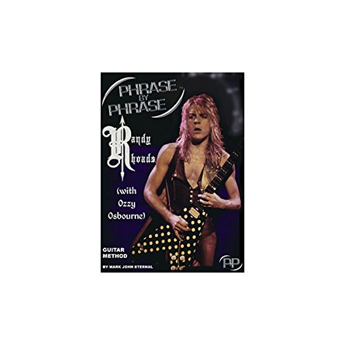 MJS Music Publications Phrase By Phrase Guitar Method - Randy Rhoads (with Ozzy Osbourne) (Standard)
