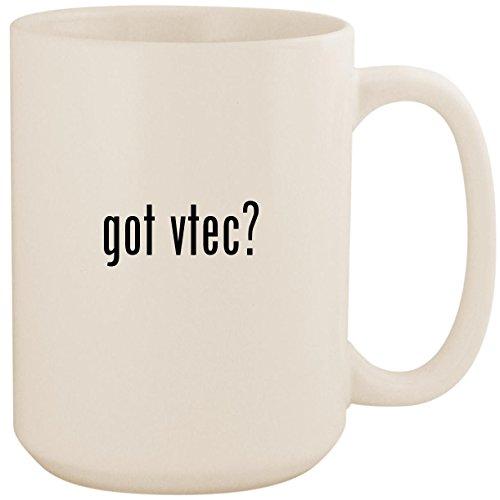 got vtec? - White 15oz Ceramic Coffee Mug Cup