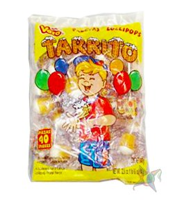Paletas mexicanas Tarrito Vero con sabor a fruta, 40 ...