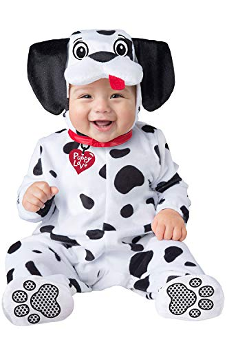 InCharacter Baby Dalmation Infant Costume-Large (18-2T) Black/White -