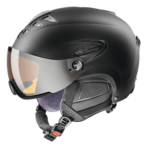 Uvex 300 Visor Ski Helmet Medium Black Mat