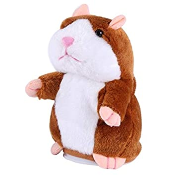 Toys & Hobbies New Lovely Talking Toy Hamster Plush Toy Sound Record Speaking Hamster Talking Toys For Children With The Best Service Electronic Toys