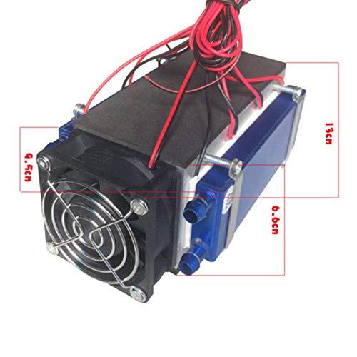 Refrigerador termoeléctrico Peltier, 12 V, 576 W, 6 chips, TEC1 ...