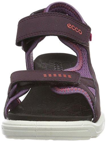 Ecco Unisex-Kinder Biom Raft Peeptoe Sandalen Violett (Mauve/Grape)