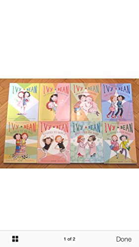 8 Book Collection: Ivy and Bean - Ivy + Bean, Ivy + Bean and the Ghost, Ivy + Bean Break the Fossil Record, Ivy + Bean Take Care of the Babysitter, Ivy + Bean Bound to be Bad, Ivy + Bean Doomed to Dance, Ivy + Bean What's the Big Idea, Ivy + 1 Mo (Ivy Bean Take Care Of The Babysitter)