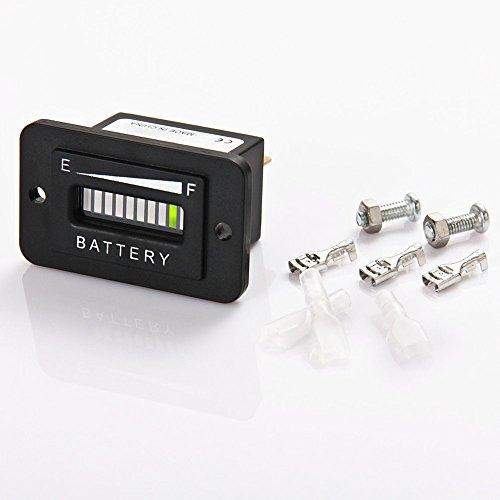 Searon 48V Volt LED Battery Indicator Meter Guage for EZGO Club Car Yamaha Golf Cart Motorcycle Car by SEARON (Image #2)