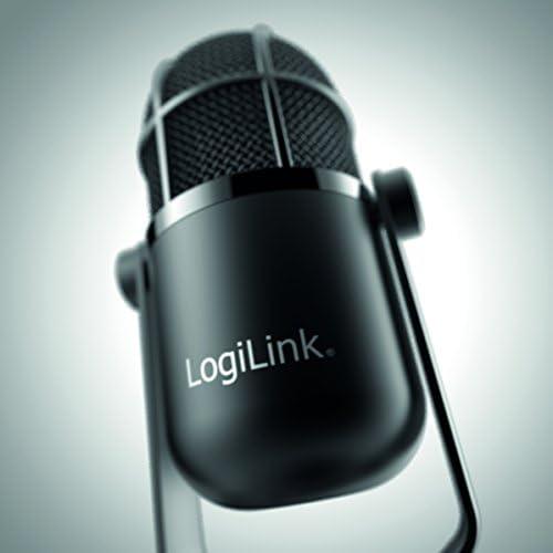 LogiLink HS0048 Microphone USB HD Noir