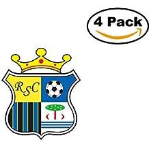 Real Sport Clube Massama Portugal Football Club Soccer FC 4 Sticker Decal 4X4