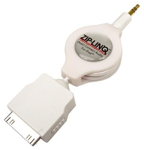 Zip Linq White Audio Connector - 6