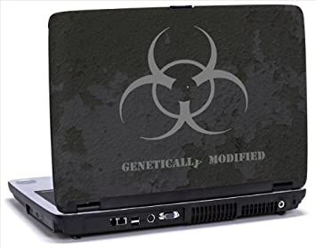 modificados genéticamente - vinilo para ordenador portátil para Dell Inspiron 1525 portátiles: Amazon.es: Informática