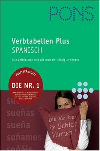 PONS Verbtabellen Spanisch, Neubearbeitung.