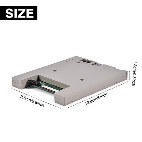 Richer-R Usb Emulator, SFRM72-DU26 720K USB Floppy Drive Emulator with High Security Data Protection, Easy to install and User-friendly for BARUDAN BENS Embroidery Machine by Richer-R (Image #2)'