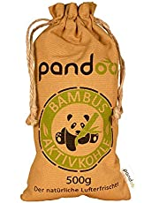 Natuurlijke bamboe luchtverfrisser met actieve kool - luchtreiniger & ontvochtiger   Air Purifying Bag   Shoe Deodorizer and Odor Eliminator