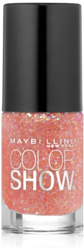 Maybelline New York Color Show Nail Lacquer No. 91 Punk Rock Pink, 0.23 Fluid Ounce