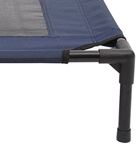 Tenive-Large-Size-Elevated-Mesh-Dog-Pet-Sleeping-Bed-36-x-30