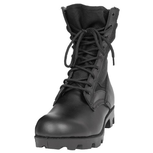 Mil-Tec US Jungle Combat Boots Black size 12 US / 11 UK