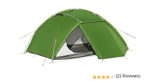 VAUDE Space L 3P - Tienda de campaña Color Green, Talla 3P: Amazon.es: Deportes y aire libre