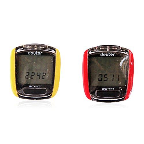Starter Vélo Chronomètre Vélo de Route Vélo de Route Compteur D'odomètre Rétro-Éclairage Imperméable Chronomètre N7 Filaire