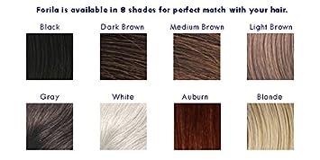 Forila Hair Building Fibers Hair Loss Concealer, 23 g – Dark Brown