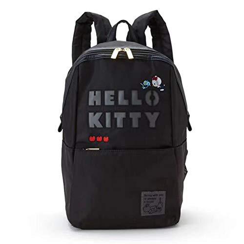 YOURNELO Women's Girl's Cute Hello Kitty Canvas School Backpack Bookbag (Kitty) ()