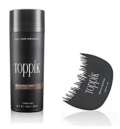 TOPPIK 55 gr. Hair Fibers + Hairline Optimizer - Fibras de Pelo - Densificador cabello