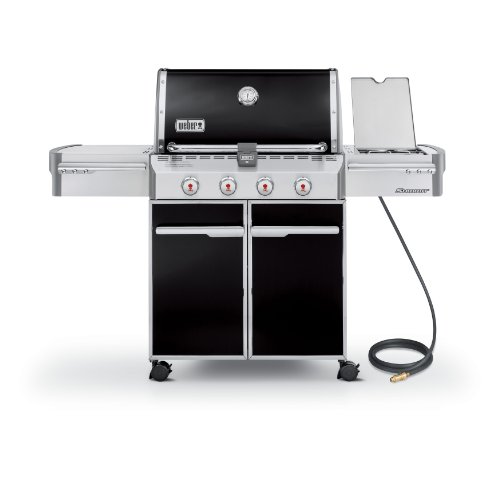Weber Summit 7221001 E-420 650-Square-Inch Natural-Gas Grill, Black Weber