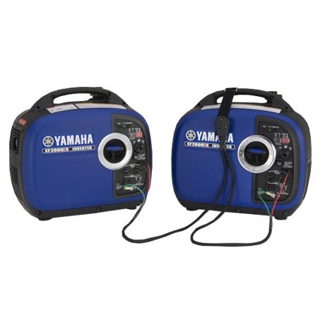 RV Generator 2000 Watts Yamaha EF2000isv2 Kit | Includes 2x Generators 1x Sidewinder Parallel Cable | Camping Power Inverter Kit