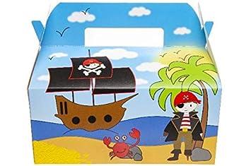 wuselwelt 8701 - 6 Cajas de Regalo con diseño de Pirata ...