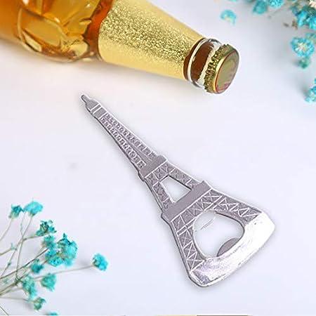 Haodou Torre Eiffel Cerveza Abrebotellas Sacacorchos Favor del Regalo de Boda Navidad Negocio del Cumpleaños Suministros Decoración (Torre Eiffel)