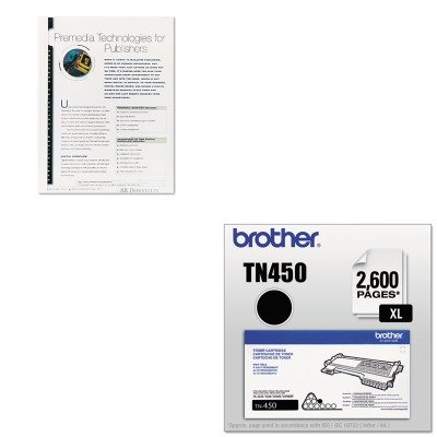 KITBRTTN450FEL52222 - Value Kit - Fellowes Thermal Binding System Covers (FEL52222) and Brother TN450 TN-450 High-Yield Toner (BRTTN450)