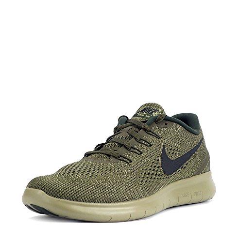 RN Free Loden Olive Scarpe Nike Uomo Neutral Black Corsa Dark da w5P7q
