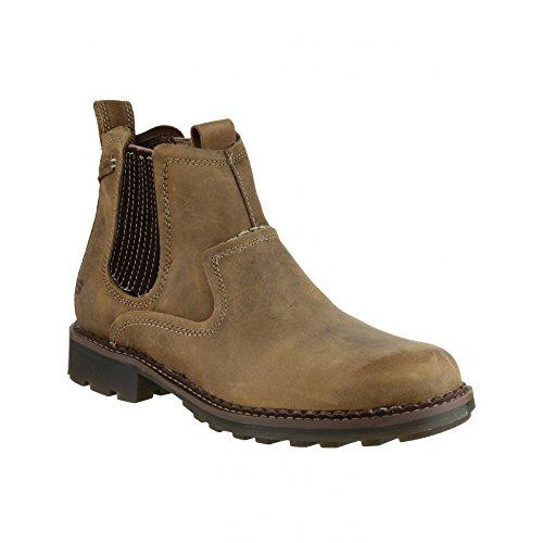 Skechers 63878 Pemex Setro Slip-On Boots / Mens Boots (8 US) (Desert)