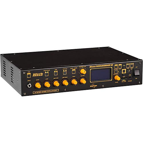 Bass Multiamp S Stereo 600W Bass Head with Effects ()