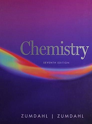 chemistry susan a zumdahl steven s zumdahl 0046442802581 rh amazon com Zumdahl Chemistry 7th Edition Pg 226 Chemistry 7th Edition Zumdahl DeCoste