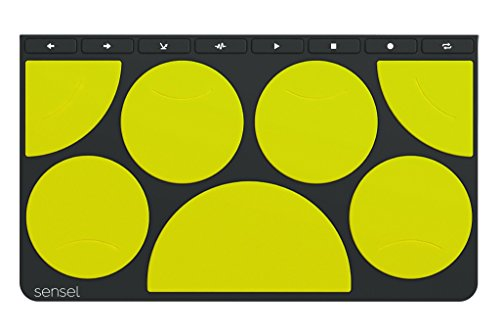 Drum Pad Overlay for The Sensel Morph, a