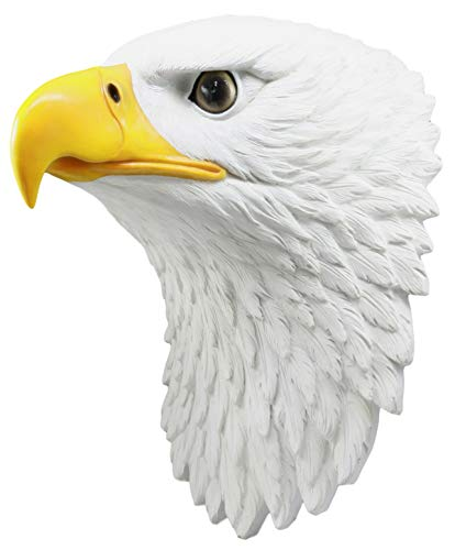 ShopForAllYou Figurines and Statues Large Majestic Bald Eagle Wall Decor 15